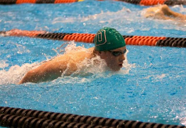 Perhosuinti ei ole helppoa. Eikä varsinkaan jos aikoo uida 100 m putkeen. Kuva cc by D Allen / Flickr.