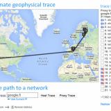 Google.fi sijaitsee yhdysvalloissa. Sinne reitti menee nyt Viron kautta.