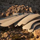Upea aavikkotalo saa betonin tuntumaan lämpimältä ja pehmeältä
