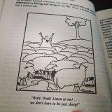 Hei hei hei! Kuunnelkaa! Meidän ei tartte alistua olemaan vain lampaita!