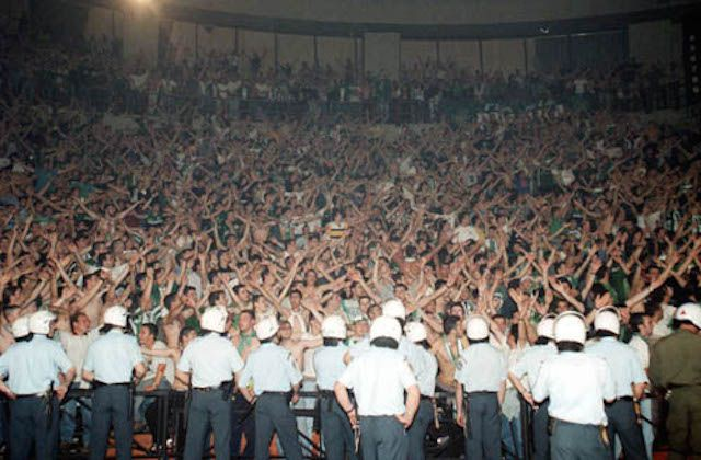 Panathinaikoksen faneja. Kuva: taz24 / Flickr.com