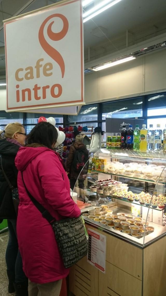 Cafe Intro perusti entisen Anttilan alakertaan PopUp Kahvilan