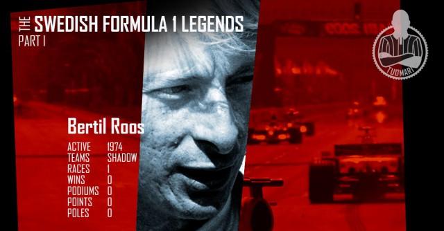 Ruotsalainen formulasankari Bertil Roos