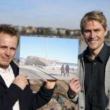 Jasper Pääkkönen ja Antero Vartia lyövät Löylyn Hernesaareen