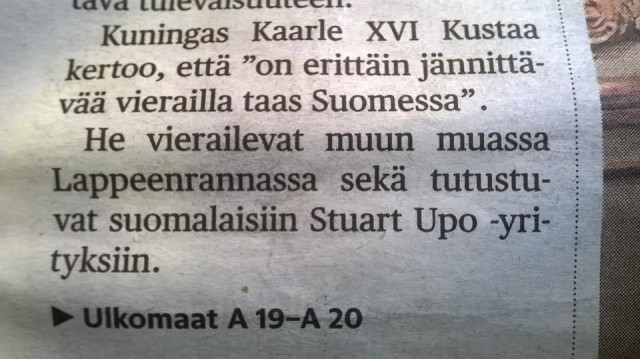 Stuart Upo -sijoittaminen on hip ja pop :D