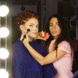 Huippumeikkaajamme Arabellum teki kuvausmeikit sponsorimme Besamen meikeillä