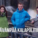 Emman, Jasperin ja Villen askeleet kestävään kalapolitiikkaan