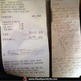 Newyorkilaistarjoilija sai 3000 dollarin tipin