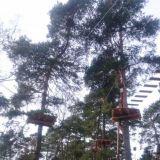 Korkee seikkailupuisto Helsinki Mustikkamaa