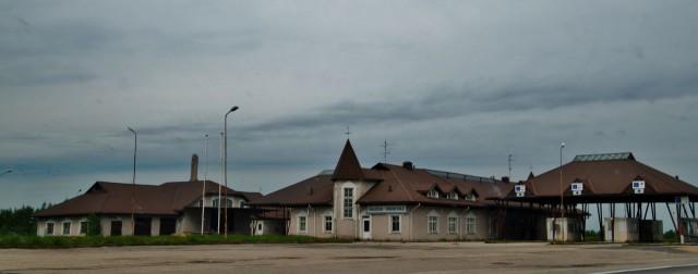 Hyljätty baltialainen tullirakennus