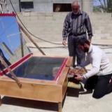 Gazassa kokataan auringonvalolla