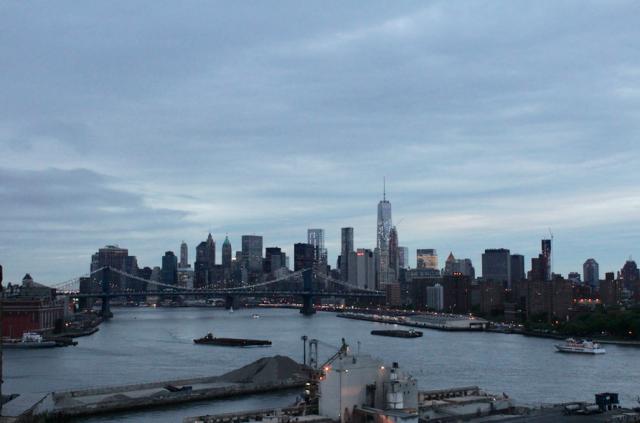 Parhaiten Manhattanin näkee Brooklynista käsin.