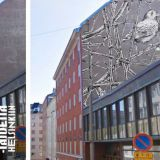 Lisää katutaidetta Helsinkiin -projekti tuo väriä kaupunkikuvaan