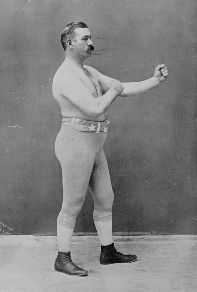 John L. Sullivan (Kuva: Richard K. Fox, New York / Chickering, Boston, Mass. - Library of Congress Prints and Photographs Division)