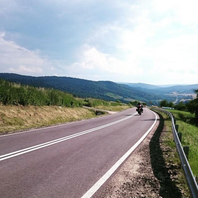 Slovakia moottoripyörällä