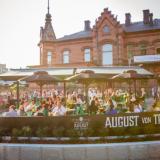 Tampereen von Trappe -ravintolan terassi on tämän kesän paras paikka