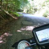 16 km pitkä mutkapätkä Romaniassa. Tosi jees :)