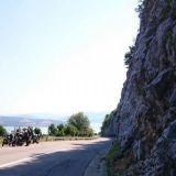 Serbiassa ajoimme ensin Tonavan vieressä kulkevaa upeaa tietä.
