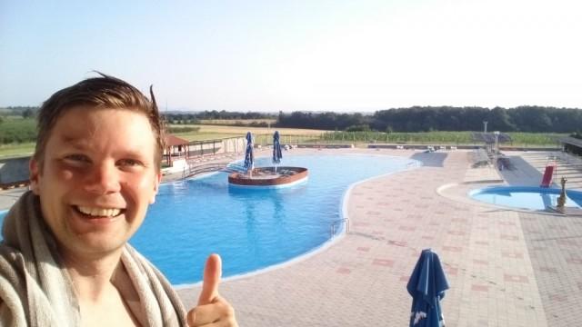 Hotellissamme Guest House Baikal oli kiva uima-allas.