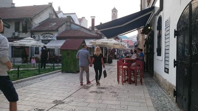Sarajevossa uskonnot ja kulttuurit kohtaavat.