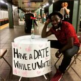 Nykin metrotunneleissa voi deittailla junaa odotellessa