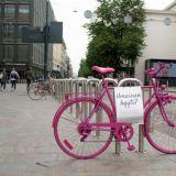 Bongaa Foodoran pinkki pyörä