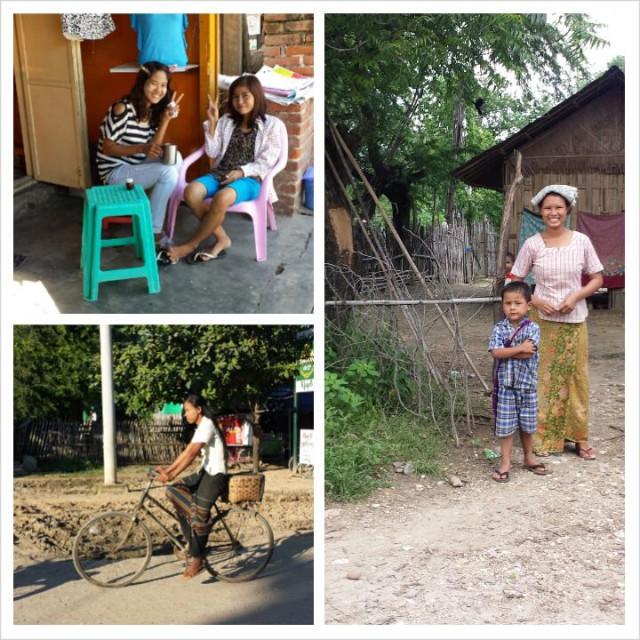 Matkailu avartaa. Kuvia Burmasta.