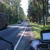 Kaliningradin alueella on paljon piikkilanka-aidoin eristettyjä armeijan alueita. Sinne ei kannata mennä seikkailemaan.