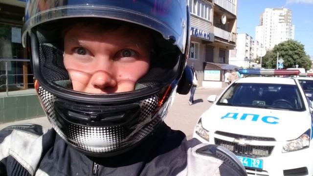 Mun ilme, kun miliisi pysäytti mut Kaliningradissa, Venäjällä.