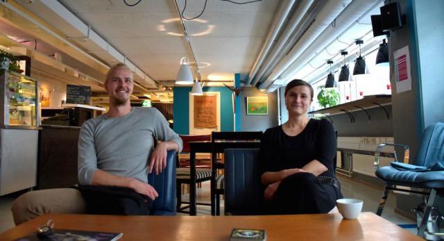 Leo Kirjonen ja Heini Tuoresmäki.