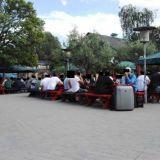 Ihmisiä kahvilassa, Christiania, Kööpenhamina