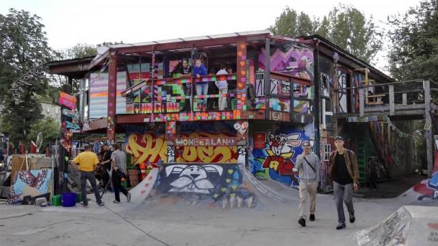 Wonderland, Christiania, Kööpenhamina