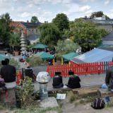 Christianian menoa on kiva katsella kukkulalta.