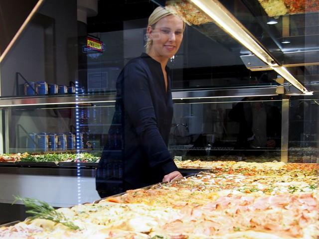 Pizzariumin takana ovat Salla-Maria ja Luca Platania