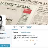 Edward Snowden liittyi Twitteriin