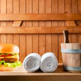 Helsingin keskustan Burger Kingiin rakennetaan sauna
