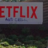 Netflixin päämajan kyltti töhrittiin kekseliäästi