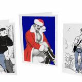 Tom of Finland -kortteja ja muistikirjoja Putingilta