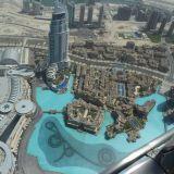 Dubai Downtown kuvattuna Burj Khalifalta. (by Citizen59 CC BY 3.0)