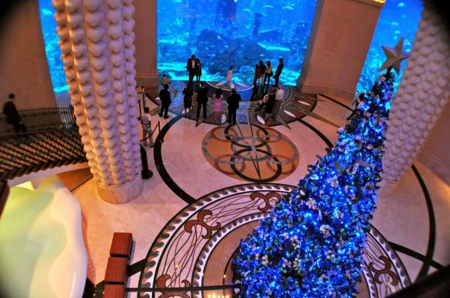 Atlantis Dubai on yksi kohteista, joka on rakennettu turisteja houkuttelemaan.