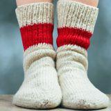 Suvaitsevaisuuden sukka lämmittää varpaiden lisäksi myös sydäntä