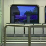 Kun juna kiisi halki sinisen