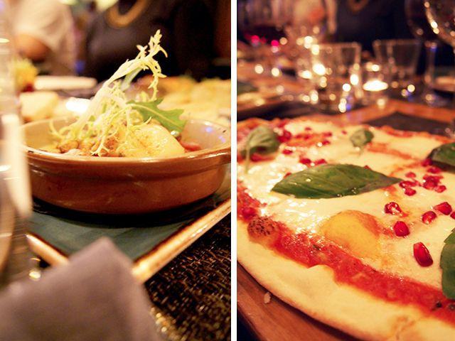 Krogin tapakset ovat ihania, pizza ihan okei