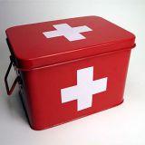 Lääketarvikelaatikko. Kuva Googlesta.
