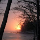 Auringonlasku Tapaninpäivänä, 2014