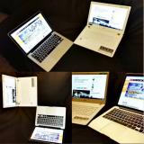 PC vai Mac? Kuvassa Apple Macbook Pro ja Acer Aspire V 13 Ultrabook