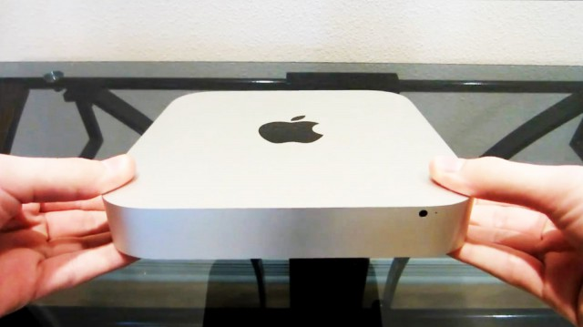 Apple Mac Mini on Apple fanin ratkaisu.