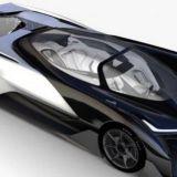 Teslan kilpailija on kuin Batmobiili