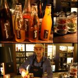 BROn cocktaileissa käytetään omatekoisia siirappeja. / Cocktailien raaka-aineet ovat houkuttelevasti esillä. / Roddy tarjoilee BROn näkemyksen Moscow Mulesta oikeaoppisesti kuparimukista.
