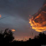 Upea ilmestys Portugalin taivaalla – ihmiset kutsuvat sitä Jumalan kädeksi